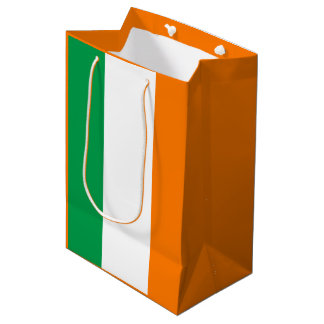 Irish flag medium gift bag