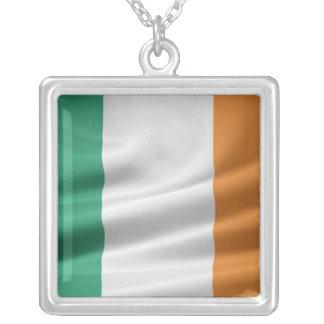 Irish Flag Necklace