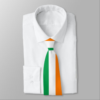 Irish flag of Ireland St Patricks Day party Tie
