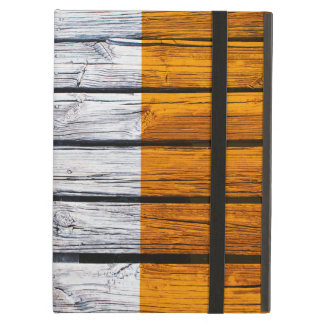 Irish Flag Painted on Rustic Wood iPad Air Cover