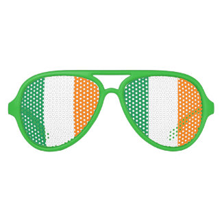 Irish flag party shades for St Patricks Day fun