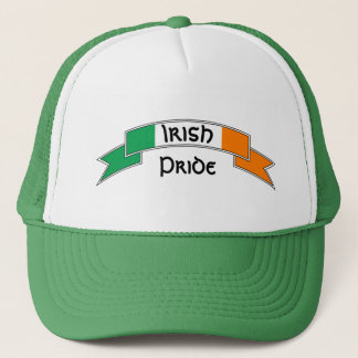 Irish Flag Personalized Trucker Hat