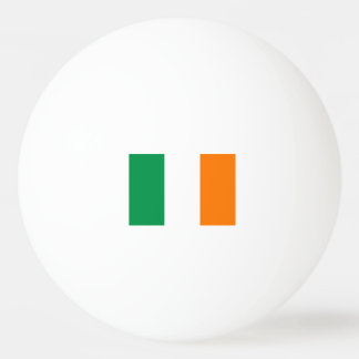 Irish flag ping pong balls for table tennis