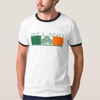 Irish Flag Ringer T-Shirt