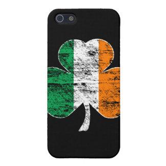 Irish Flag Shamrock (distressed)  Case For The iPhone 5