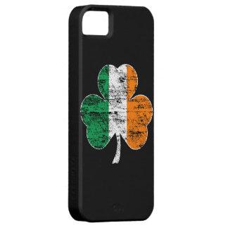 Irish Flag Shamrock (distressed) iPhone 5 Case