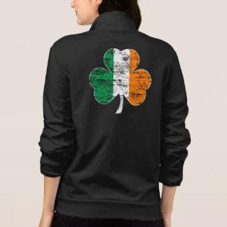 Irish Flag Shamrock Distressed Jackets
