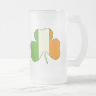 Irish Flag Shamrock Mug