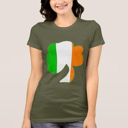 Irish Flag Shamrock T-Shirt