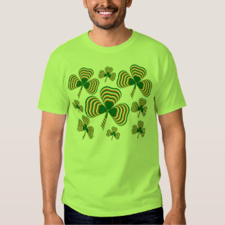 Irish flag shamrock tshirts