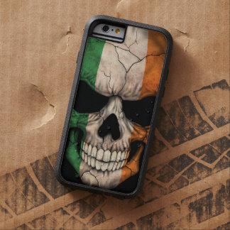 Irish Flag Skull on Black Tough Xtreme iPhone 6 Case