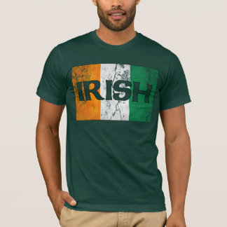 Irish Flag T-Shirts (Distressed)