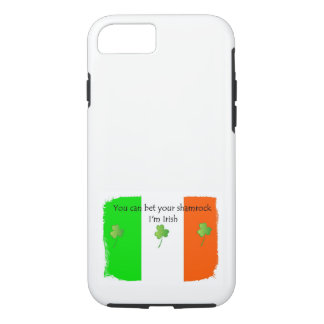 Irish Flag with Shamrocks iPhone 8/7 Case