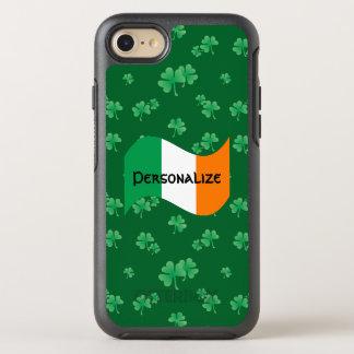 Irish Flag with Shamrocks OtterBox Symmetry iPhone 8/7 Case