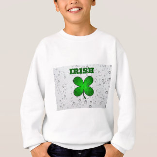 Irish Floating Clover Sweatshirt