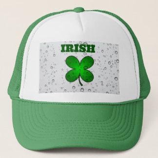 Irish Floating Clover Trucker Hat