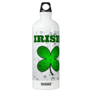 Irish Floating Clover Water Bottle