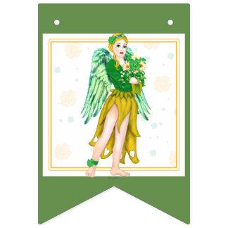 IRISH FLOWERS BUNTING BANNER 2