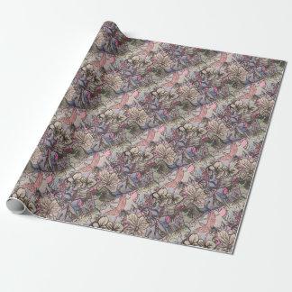 Irish Flowers Wrapping Paper