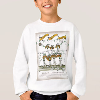 irish football defenders sweatshirt