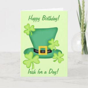 happy birthday st patrick day