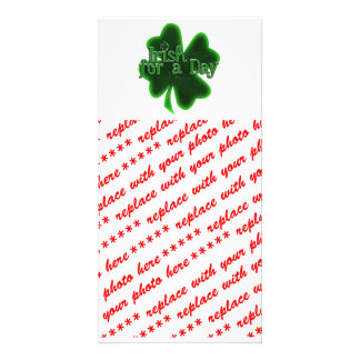 Irish For A Day Photo Cards