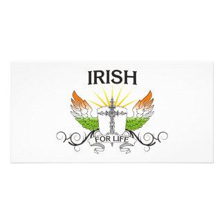 Irish For Life Custom Photo Card