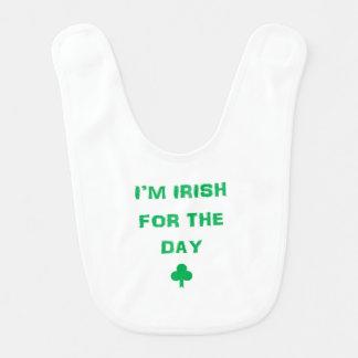 Irish for the day bib