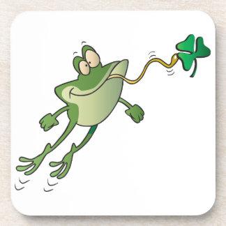 Irish Frog Drink Coasters