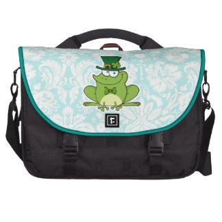 Irish Frog Cute Laptop Commuter Bag