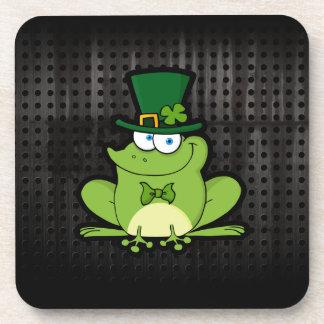 Irish Frog; Rugged Beverage Coasters