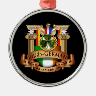 Irish German All-American Christmas Ornament