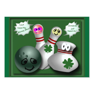 "Irish  gifts 5"" x 7"" invitation card"