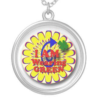 Irish  gifts round pendant necklace