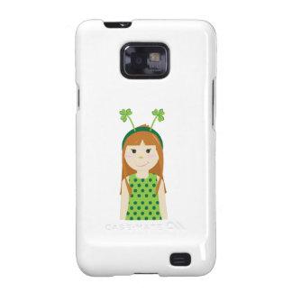 Irish Ginger Galaxy SII Cases