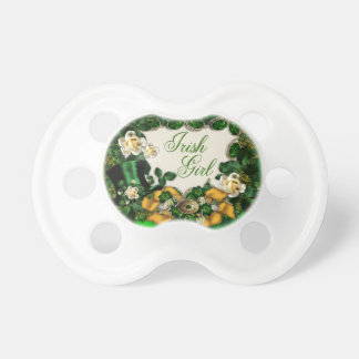 Irish Girl Baby Pacifier