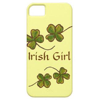 Irish Girl Clover Shamrocks iPhone Case