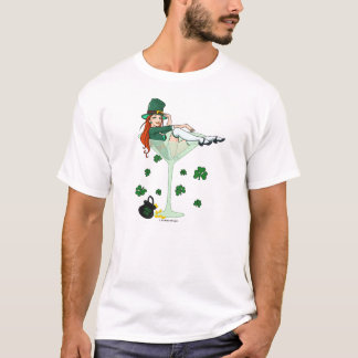 Irish Girl Martini T-Shirt