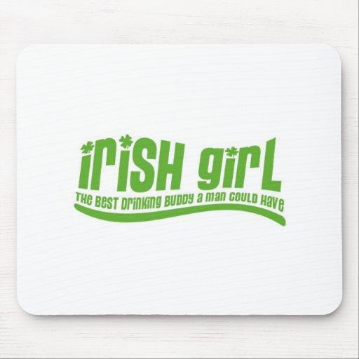 Irish Girl Mouse Pads