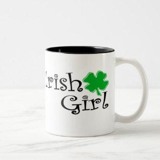 Irish Girl Two-Tone Mug