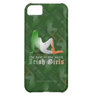 Irish Girl Silhouette Flag iPhone 5C Case