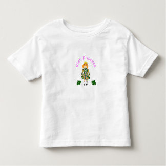 Irish Girl Toddler Princess Shirt