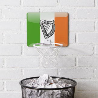 Irish glossy flag mini basketball hoop