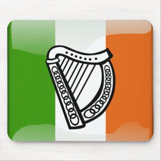 Irish glossy flag mouse pad