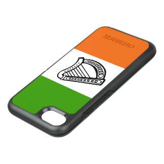 Irish glossy flag OtterBox symmetry iPhone 8/7 case