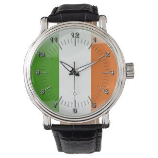 Irish glossy flag watch