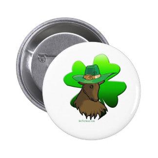 Irish Goat 6 Cm Round Badge