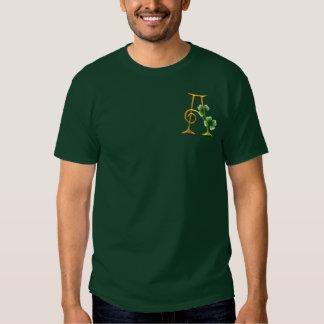 Irish Gold Monogram A Tshirts