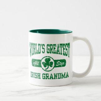 Irish Grandma Coffee Mugs
