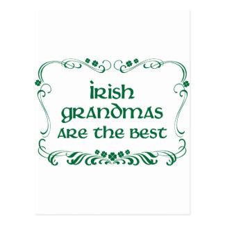 Irish Grandma T-shirt Post Cards